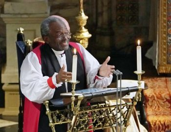 Presiding Bishop Michael Curry, preached at royal wedding, to speak in Worcester, Pittsfield