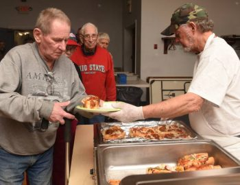 More than free food: Veterans find community at weekly lunch