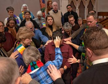 Together in prayer: Religious leaders show support for undocumented immigrants in sanctuary