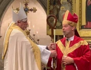 Bishop Mark Edington consecrated & installed as leader of The Episcopal Church in Europe