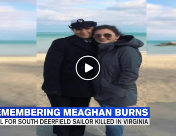 Vigil held to honor & remember the life of Navy corpsman Meaghan Burns