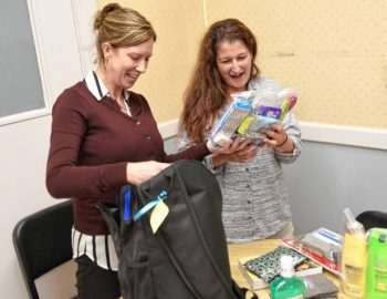 Love In A Backpack program making a difference for women released from jail