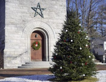 At Stockbridge church, holiday displays lift spirits with hope and light